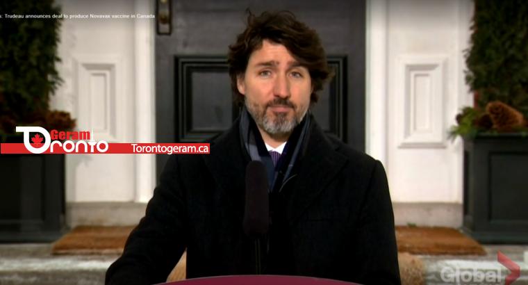توافق برای تولید واکسن کرونا در کانادا