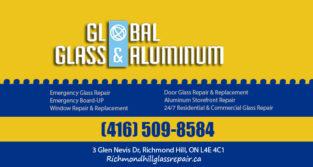 شرکت Global Glass | تعمیر و تعویض درب و پنجره